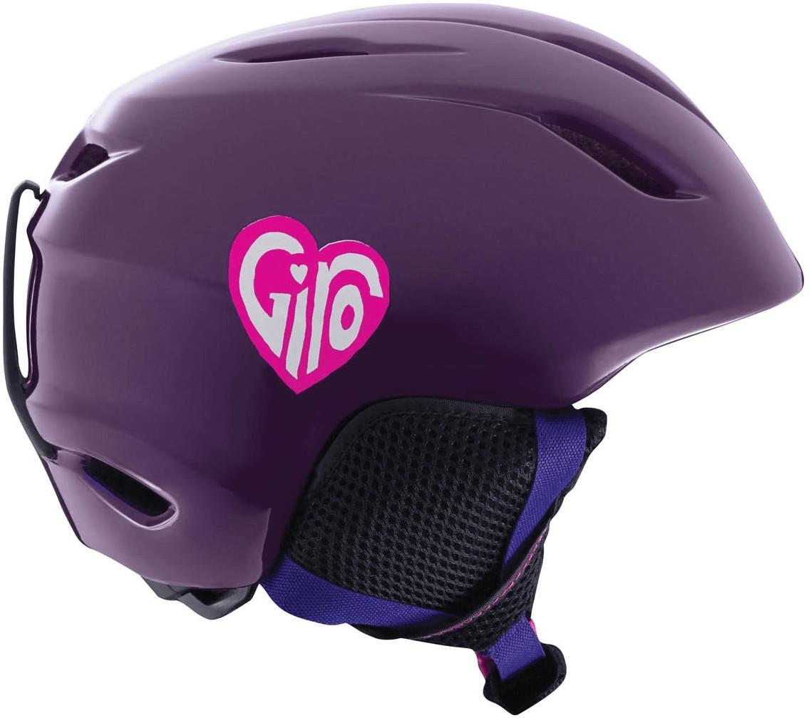 Giro Launch purple sweethearts