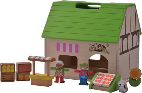EverEarth Puppenhaus Bioladen