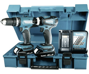makita dlx2020y akkuschrauber set ab 222 18. Black Bedroom Furniture Sets. Home Design Ideas