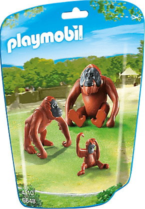 Playmobil 2 Orang-Utans mit Baby (6648)