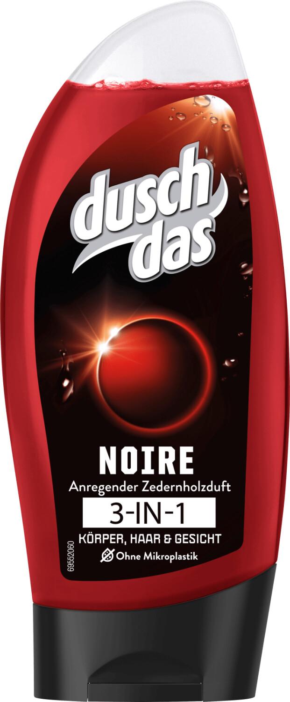 duschdas 2in1 Duschgel & Shampoo Noire