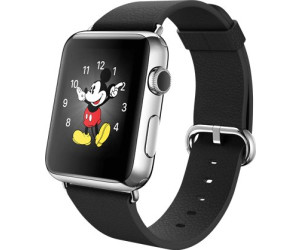 Apple Watch 42mm Stainless Steel, Black Classic Buckle