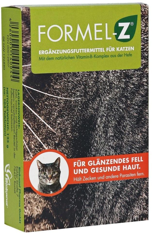 Biokanol Formel Z für Katzen Tabletten 125 g