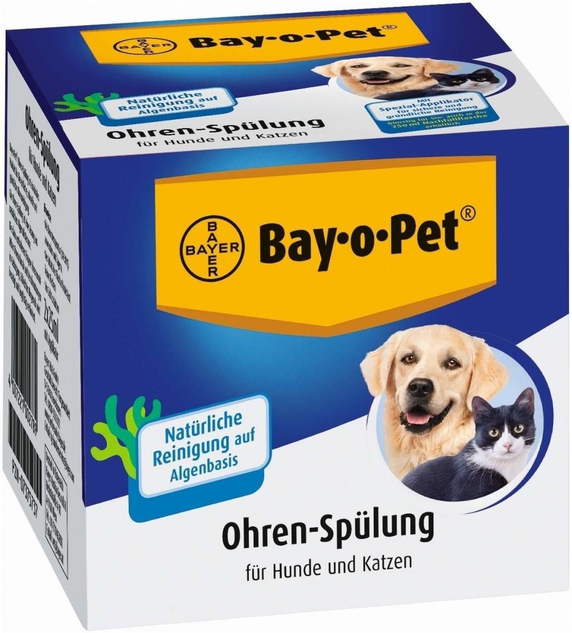 Bayer Bay O Pet Ohrreiniger für Hunde/Katzen Lö...