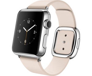Apple Watch 38mm Stainless Steel, Soft Pink Modern Buckle