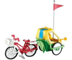 Playmobil Fahrrad mit Kinderanhänger (6388)