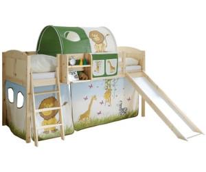 Kinderhochbett mit rutsche  Ticaa Ekki mit Rutsche ab 149,24 €   Preisvergleich bei idealo.de