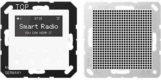 Image of Jung Series A Smart Radio - Set Mono (RAD A 518)