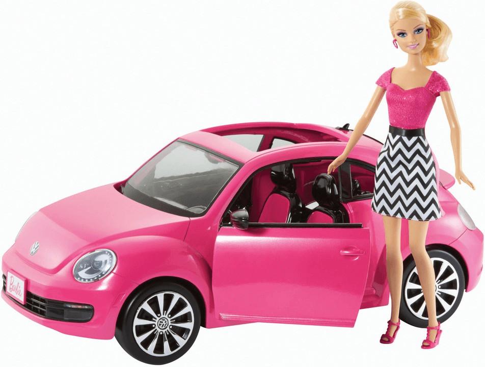 Barbie & Volkswagen The Beetle (BJP37)
