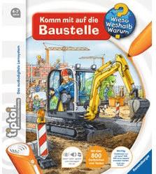 Ravensburger tiptoi - Komm mit auf die Baustelle