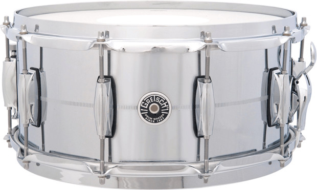 Image of Gretsch Brooklyn Chrome over Brass SD 14x6,5