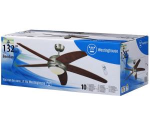telecomando di Westinghouse Ventilatore a Soffitto-Bendan scuro stagno incl