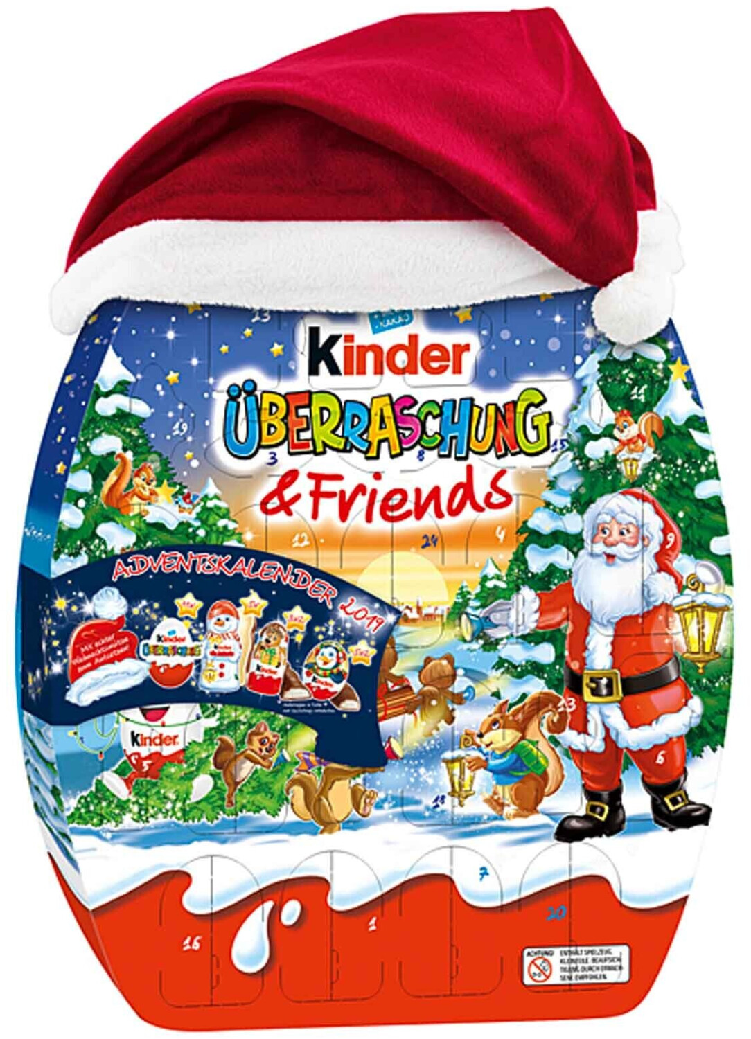 Ferrero Kinder Überraschung & Friends Adventska...