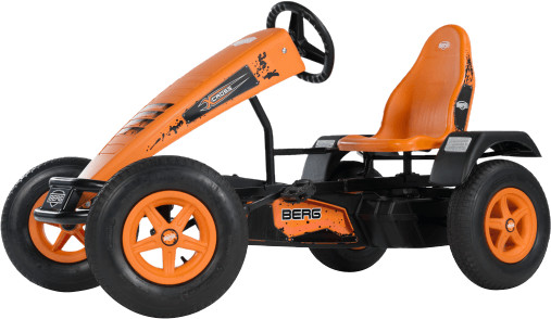 Berg Gokart X-Cross orange BFR inkl. Soziussitz
