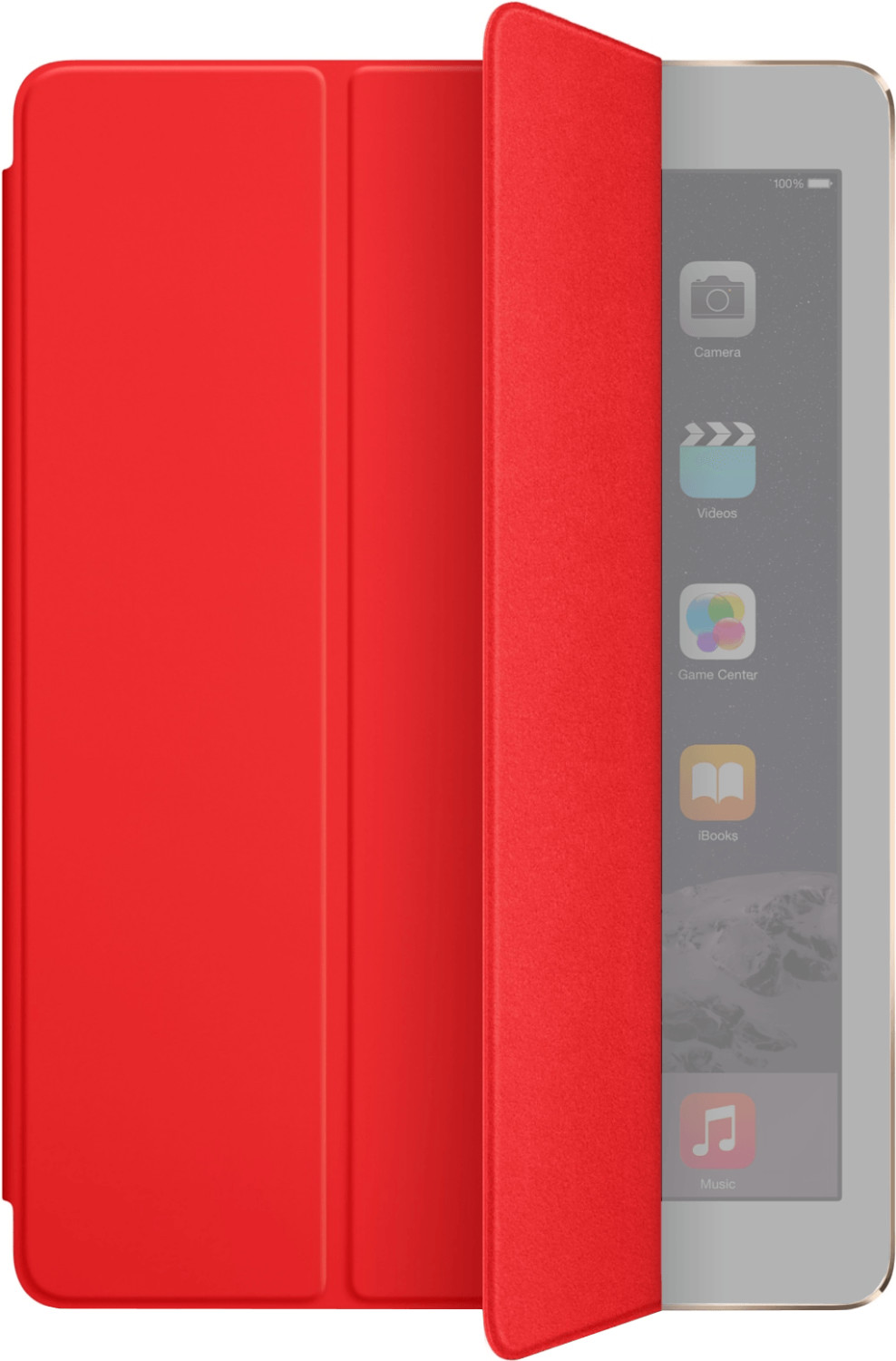 Image of Apple iPad Air/iPad Air 2 Smart Cover red (MGTP2ZM/A)