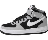 Nike Air Force 1 Mid Schwarz