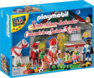 Playmobil Calendrier.Playmobil Calendrier Saint Nicolas 5217 Au Meilleur Prix