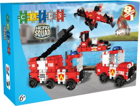 Clics Hero Squad - Feuerwehr 8 in 1