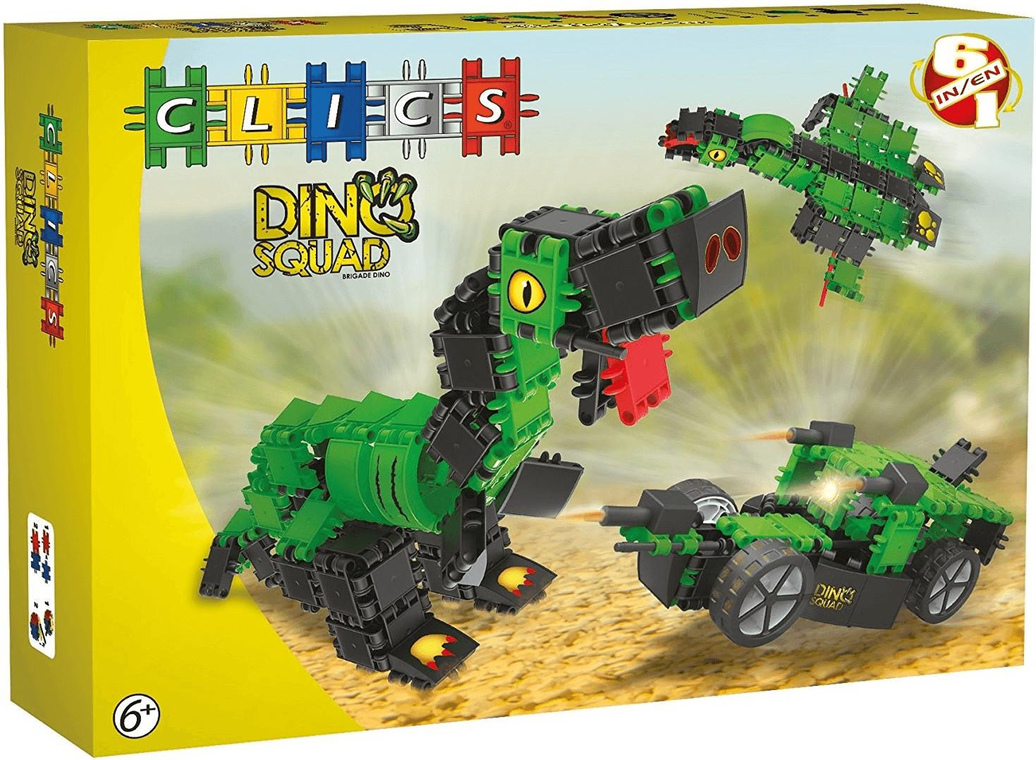Clics Dino Squad - Box 6 in 1