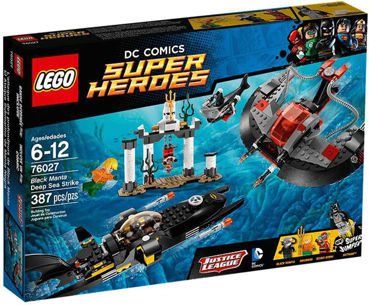 LEGO DC Comics Super Heroes - L'attaque des profondeurs de Black Manta (76027)