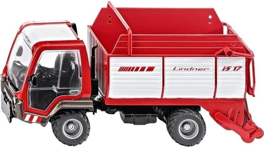 Siku Lindner Unitrac mit Ladewagen (3061)