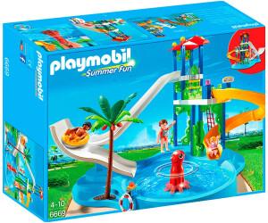 Playmobil Parc Aquatique Avec Toboggans Géants (6669) Au Meilleur Prix Sur  Idealo.fr