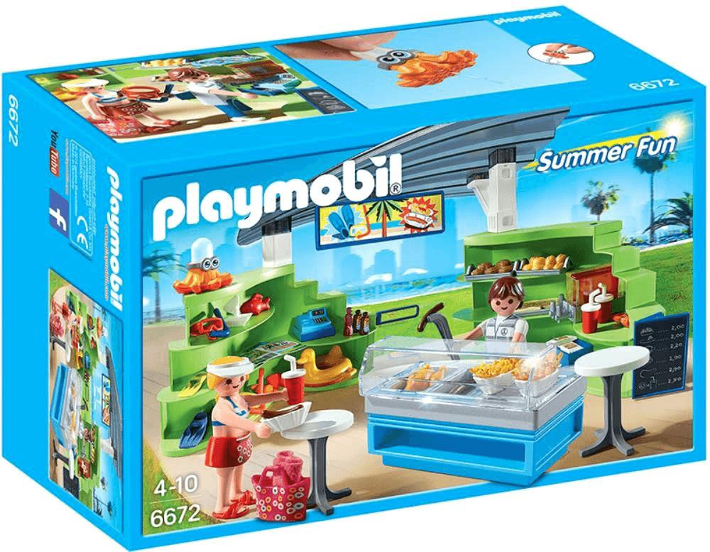 Playmobil Shop mit Imbiss (6672)