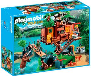 Playmobil abenteuer baumhaus 5557 ab 54 99 for Casa del arbol playmobil carrefour
