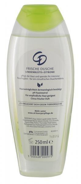 CD Frische Dusche Lindenblüte & Zitrone (250 ml)