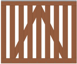 traumgarten vorgartentor raja wpc bxh 101 5 x 85 cm ab 118 67 preisvergleich bei. Black Bedroom Furniture Sets. Home Design Ideas