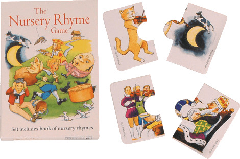 House of Marbles Nursery Rhyme Card Game (engli...