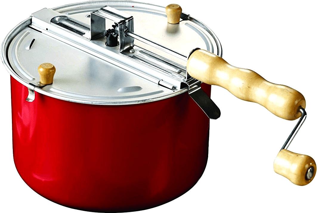 Image of Eddingtons Popcorn Popper red