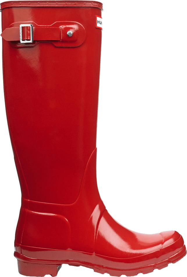 Hunter Original Gloss military red