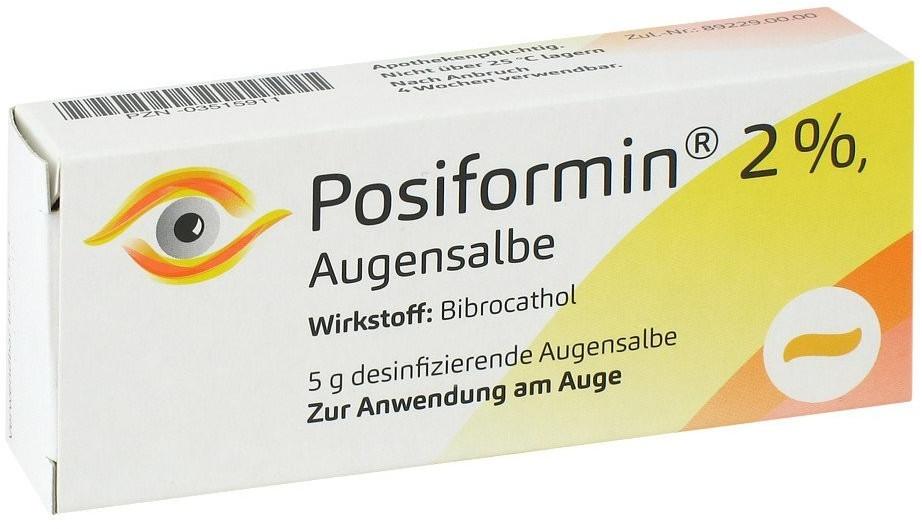 Posiformin 2% Augensalbe (5 g)