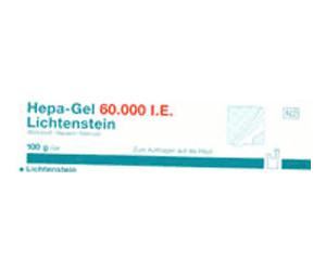 Hepa Gel 60 000 I.E. Lichtenstein (100 g)