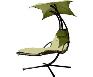 leco schwingliege mit sonnendach 360001 ab 158 91 preisvergleich bei. Black Bedroom Furniture Sets. Home Design Ideas