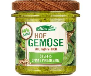 Allos Hofgemüse Steffis Spinat Pinienkerne (135 g)