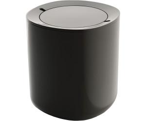 Alessi Birillo Bathroom Waste Bin PL10 DG dark grey