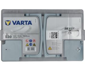 Varta Start Stop Plus AGM E39 70Ah Batterie de Voiture