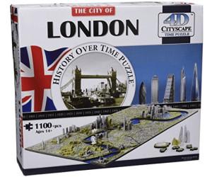 4D Cityscape Inc. 4D London Time Puzzle