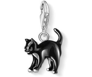 Thomas Sabo Charm pendant black cat black 0701-007-11 Thomas Sabo RbFwH79lI