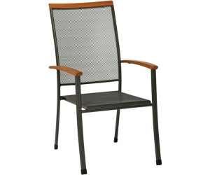 siena garden cara stapelsessel streckmetall ab 90 31 preisvergleich bei. Black Bedroom Furniture Sets. Home Design Ideas