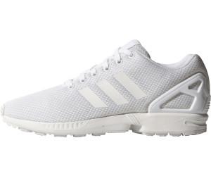 Adidas ZX Flux all white au meilleur prix sur