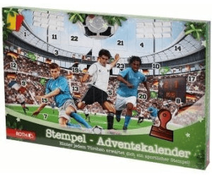 ROTH Stempel-Adventskalender Fußball