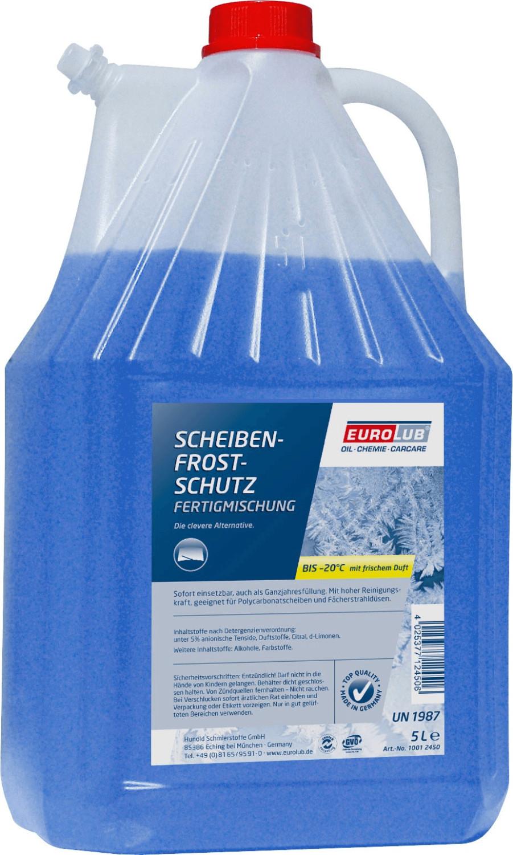 EuroLub Scheibenfrostschutz Fertigmischung -20 °C (5 l)