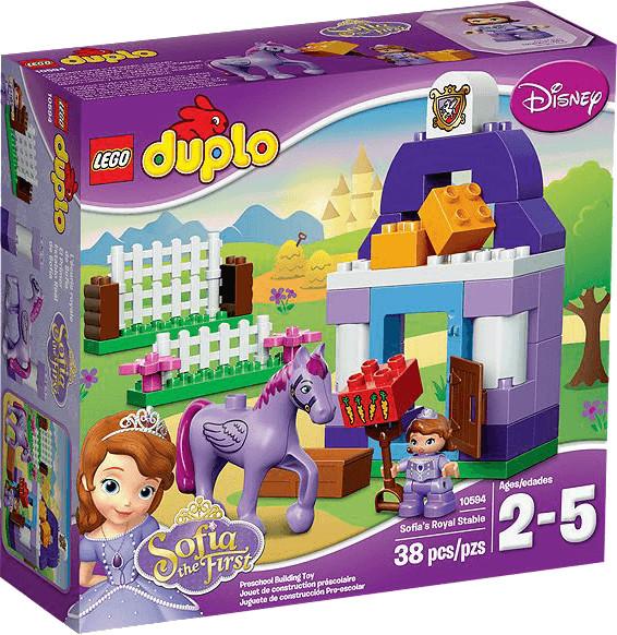 LEGO Duplo - L'écurie royale de Princesse Sofia (10594)