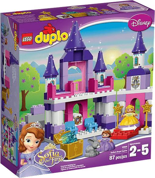 LEGO Duplo - Le château royal de la Princesse Sofia (10595)