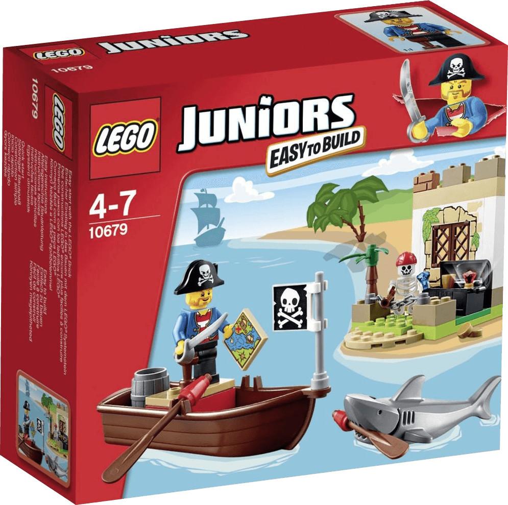 LEGO Juniors - La chasse au trésor des pirates (10679)