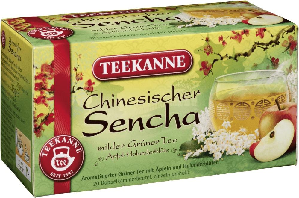 Teekanne Chinesischer Sencha (20 Stk.)