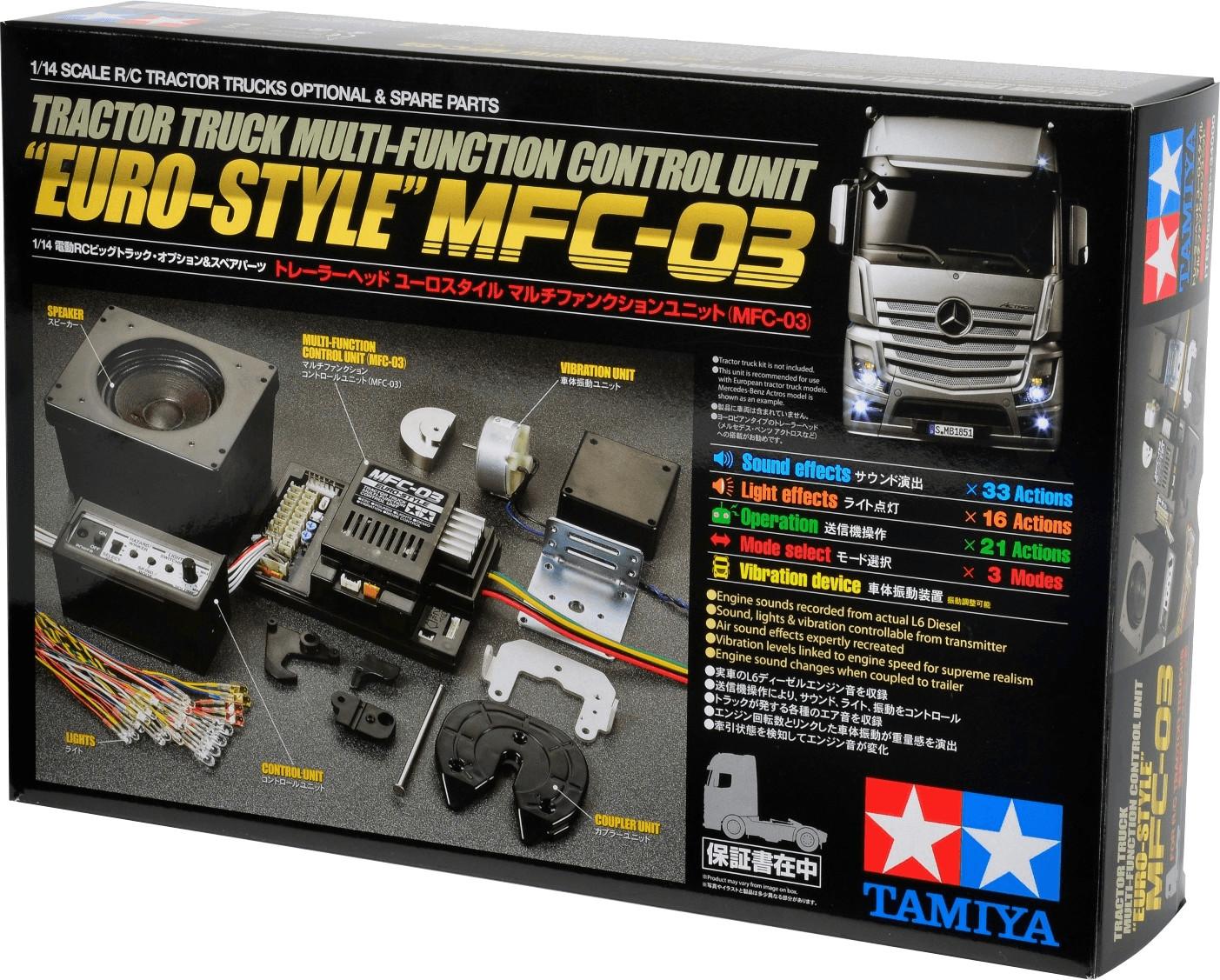 Tamiya Multifunktionseinheit MFC-03 Euro-Style ...